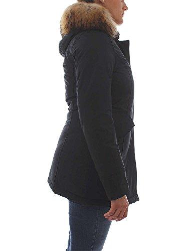 Outerwear Donna Nero Wwcps1447black Woolrich Cotone Giacca S5wqxwAT
