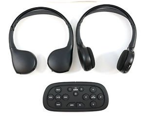 2015 Silverado Tahoe Suburban Yukon Yukon XL 2 Headphones 1DVD Remote Part 23141413