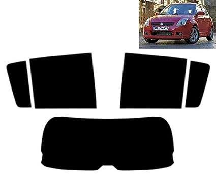 Pellicola Oscurante Vetri Auto Pre-Tagliata Suzuki Swift 5-Porte 2005-2010 Vetri Posteriori /& Lunotto