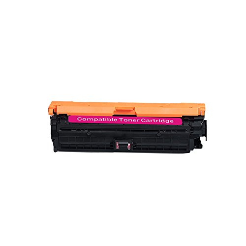 Compatible for HP 307A CE743A (1-Pack Magenta) Toner Cartridge for HP Color Laserjet CP5225 CP5225n CP5225dn