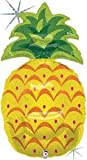 """Single Source Party Supplies - 37"""" Pineapple Mylar Foil Balloon"""