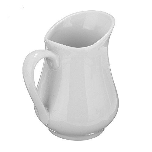 1 PCS Vintage Mini Ceramic Milk Jug Pot Arrangement Vase White Espresso Coffee creamer pourer Pitcher Barista Kitchen For Home Decoration Coffer Latte Tea Coffee Good Use Cooking Tools - Ikon Tea Kettle