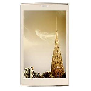 Micromax Canavas Plex Tab Tablet (8 inch, 32GB, Wi-Fi + 4G LTE, Voice Calling), Champagne