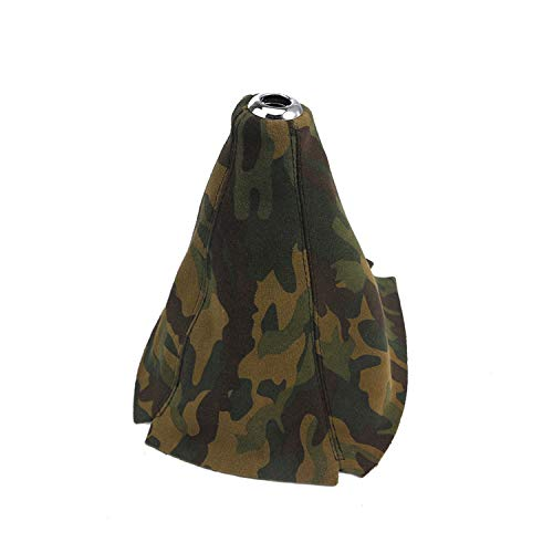 Gear Cover CNSPEED Gear Cover Camouflage Suede Hand Brake Shift Handle Stick Sleeve Case Antiskid for Car Universal Manual Shifter