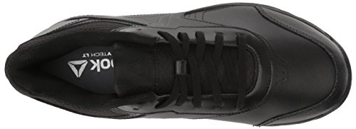Reebok Womens Work N Cushion 3.0 Wide D Sneaker Nero / Nero - Largo D
