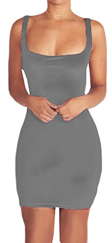 Bodycon Grey Sleeveless Velvet Dress Jaycargogo Women Clubwear Midi Sexy qwISS84nv