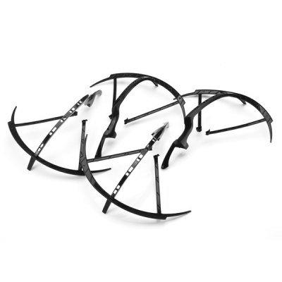 4 Cadres de Protection Noirs pour drones Yizhan Tarantula X6 / JJRC H16