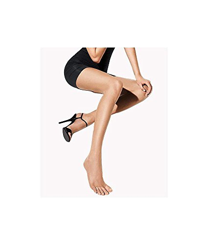 Wolford Luxe 9 Denier Toeless Pantyhose, L, Cosmetic