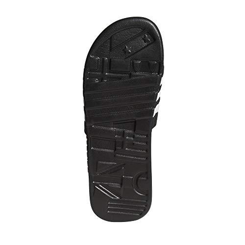 Adissage Blanc Chaussures Plage Adidas Piscine Et noir Noir De Adultes Unisexe Pour PdwxqUR