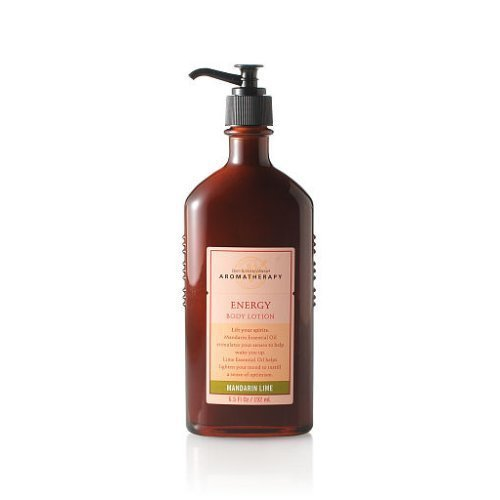 Bath & Body Works Aromatherapy Energy Mandarin Lime Body Lotion 6.5 oz (Lime Therapy Lotion)