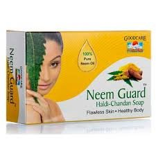 GOODCARE Pharma Neem Guard Haldi Chandan Soap turmeric 75 Gm ( 5 Pack)