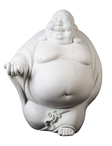 - Shhaljj White Porcelain is Used to Run Maitreya Buddha Ornaments. Transportation Collection Crafts Home Model Room Soft Decoration Creative Simple Personality.