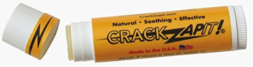 CrackZapIt! natural remedy for cracked finger, thumb, and heel skin, single tube