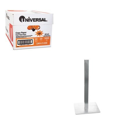 KITMLNCA411SUNV21200 - Value Kit - Mayline Hospitality Table Square Pedestal Base (MLNCA411S) and Universal Copy Paper (Mayline Square)