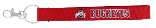 - aminco NCAA Ohio State Buckeyes Wristlet Key Ring