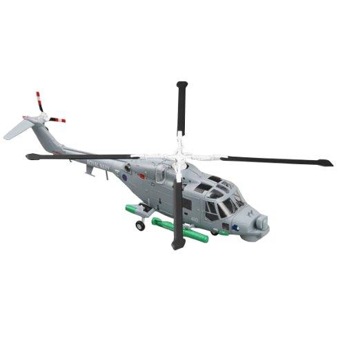"Easy Model Super Lynx, N°410 ""Blue Rhino"", Royal Navy Helicopter Model Building Kit"