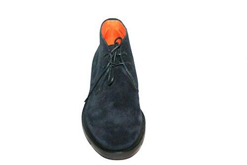 SANTONI , Chaussures de ville à lacets pour homme bleu bleu