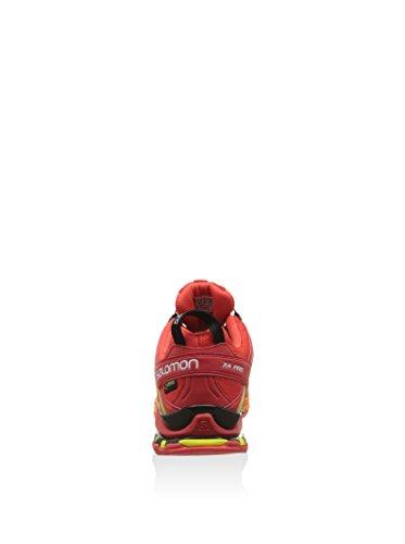 Salomon XA Pro 3D Gtx, Zapatillas de Trail Running para Hombre Rosso/Giallo/Arancione