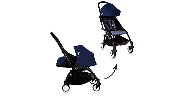 Babyzen Edition spéciale pousette Yoyo Plus complète Cadre Noir habillages 0+ et 6+ Bleu Air France: Amazon.es: Juguetes y juegos