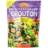 Osem Mediterranean Crouton Onion & Garlic 5.25 Oz. Pack Of 12.