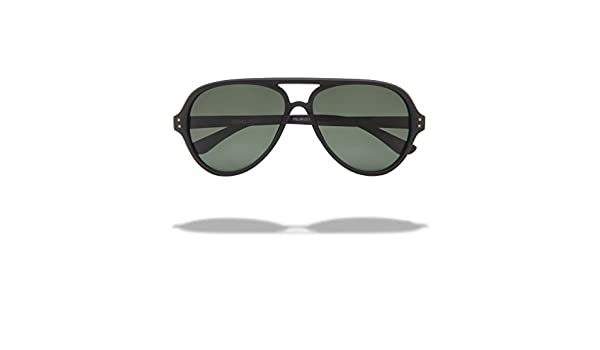 a4a95e1534 Amazon.com  Local Supply Unisex Airport Pacific Black   Green Sunglasses   Clothing