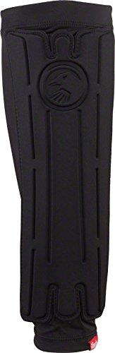 Shadow Invisa-Lite Shin Guards: Black LG (Guards Lite Leg)