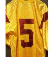 Signed Bush, Reggie (USC Trojans) Replica USC Trojans Jersey (Size XL) autographed (Reggie Bush Replica Jersey)