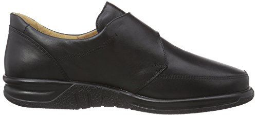 Ganter Sensitive Kurt Wide K Slipper Da Uomo Nero (nero 0100)