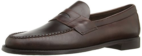 Sebago Mens Heritage Penny Loafer  Brown Oiled Waxy Leather  11 5 M Us