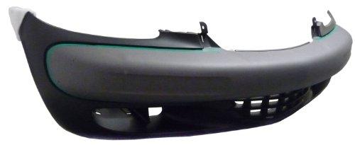 TKY CR04015BB-DK5 Chrysler PT Cruiser Primed Black Replacement Front Bumper Cover