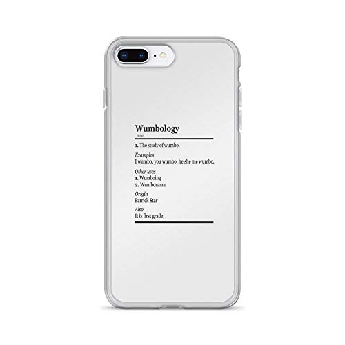 iPhone 7 Plus/iPhone 8 Plus Case Clear Anti-Scratch Wumbology Cover Phone Cases for iPhone 7 Plus iPhone 8 Plus]()