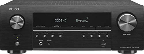 Denon AV Receiver Audio & Video Component Receiver BLACK (AVRS540BT) (Renewed) (Best Hdmi Stereo Receiver)