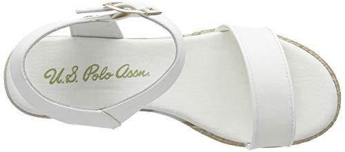 polo s bianco Sandalia Assn Canvas Con Niva4 001 U Blanco Para Mujer Pulsera pw5PdnqpxW