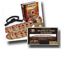 Ninjutsu DVD Set - Bujinkan Budo Taijutsu Black Belt - Richard Van Donk