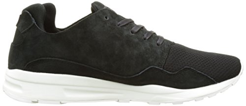 Le Coq Sportif Unisex Adults' LCS R Pure Mono Luxe Low-Top Sneakers, Turtle Dove Black