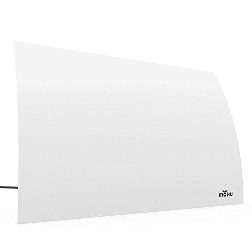 Mohu Arc Digital TV Antenna, 40-Mile Range, Designer Edition, Indoor, 4K Ready (Certified Refurbished) by Mohu