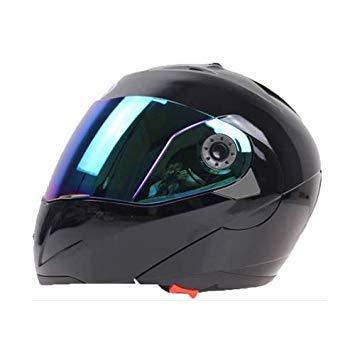Uniqus JIEKAI 105 Full Face Helmet Electromobile Motorcycle Double Lens Predective Helmet, Size  M (Black+color)