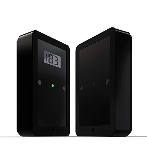 Bi Directional Wireless Battery Operated Infrared Dual Beam People Counter w/2 Year Warranty ()