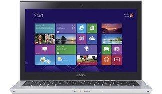 Sony Vaio T Series 13 Touchscreen Ultrabook SVT13136CYS - Sony Vaio Intel I5