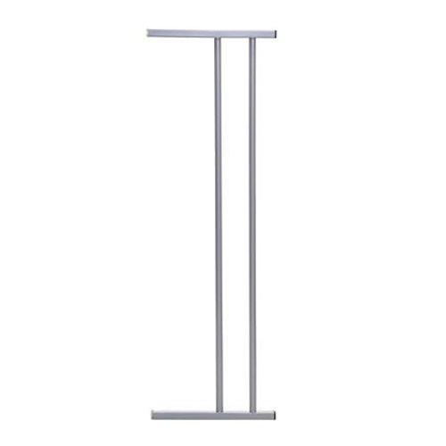 Dreambaby 7'' Gate Extension (Fits Both Windsor & Metropolitan Gates)- Silver