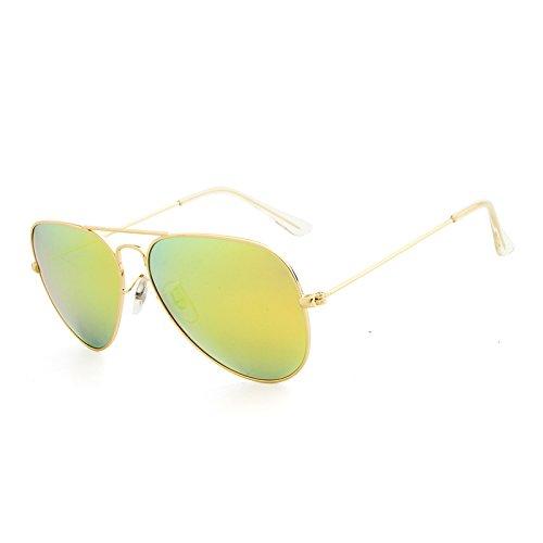 Soleil Polarizado Polarisées De Marque Hommes Golden Aviador Oculos Mxnet Classiques Lunettes Designer Ovales yellow Pour Vue Femmes xBwCq6FHE