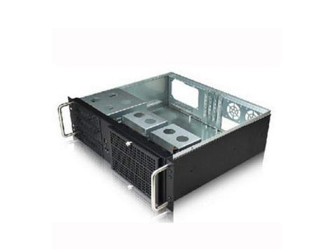 REFIT Computer Server case 3U380mm Ultra-Short Industrial Chassis Quality Aluminum Panel Support 19 Rack by REFIT