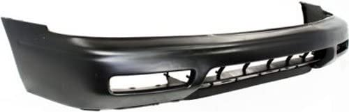 CPP Unprimed Front Bumper Cover Replacement for 1994-1995 Honda Accord