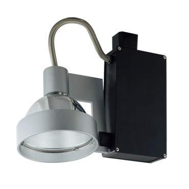 (Jesco Lighting HMH701T4NF70W Contempo 701 Series Metal Halide Track Light Fixture, T4 24-Degree Narrow Flood, 70 Watts, White Finish)