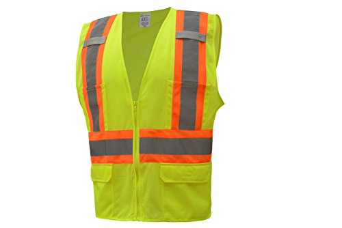 2 Two Tone Safety Vest - 2