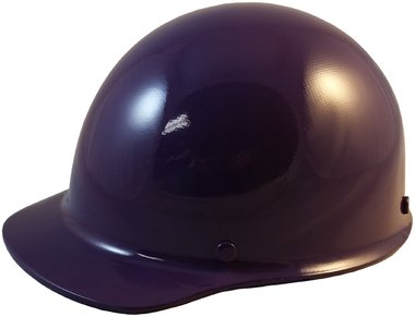 MSA Skullgard Cap Style Hard Hat With Ratchet Suspension Custom Purple Color]()