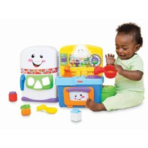 Fisher Price Laugh And Learn: Learning Kitchen With Mini Tool Box (cog)