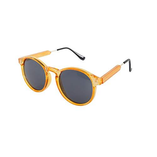 de lunettes couleur de soleil NIFG orange mode rétro soleil Lunettes 5nqwWwgxp