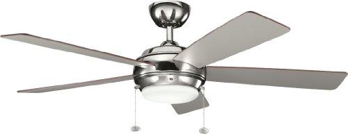 Kichler 300173PN 52-Inch Starkk Fan, Polished Nickel