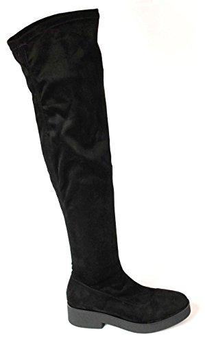 Inuovo - Botas para mujer negro negro 36 negro